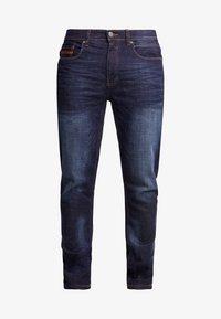 Burton Menswear London - RINSE TRIM - Slim fit jeans - dark blue - 4