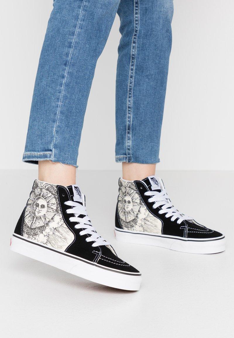 Vans - SK8 - High-top trainers - black/true white