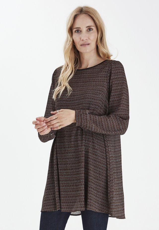 Sukienka letnia - bison printed