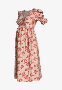 Glamorous Bloom - DRESS - Sukienka letnia - stone/rust flower - 5