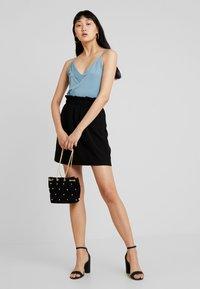 Vero Moda - VMCOCO GABRIELLE FRILL SKIRT - A-line skirt - black - 2