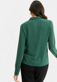 WE Fashion - Button-down blouse - green - 2