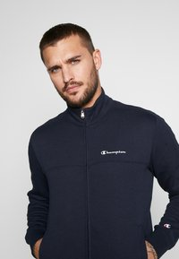 Champion - FULL ZIP SUIT - Träningsset - navy - 5