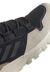 adidas Performance - TERREX HIKSTER MID - Scarpa da hiking - core black/grey six/white - 5