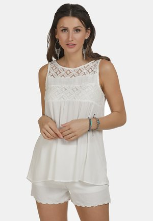 TOP - Blouse - wollweiss