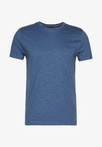 Tommy Hilfiger - SLUB TEE - Basic T-shirt - blue - 3