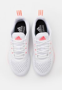 adidas Performance - TRAINER X - Kuntoilukengät - footwear white/signal pink/grey two - 5