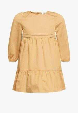 Day dress - golden cream