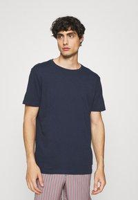 GAP - CREW JOCK TAG 3 PACK - Basic T-shirt - blue - 3