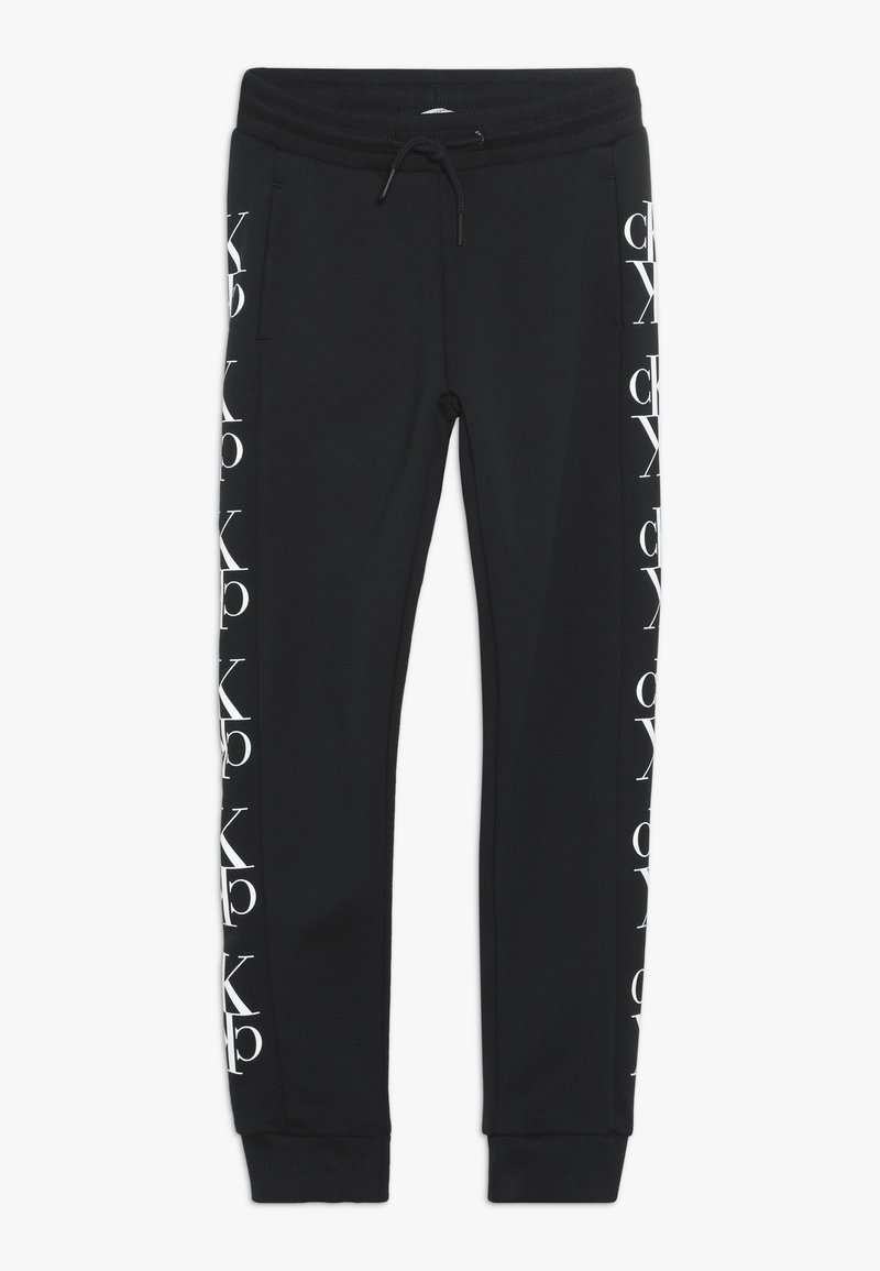 Calvin Klein Jeans - MIRROR MONOGRAM  - Pantalon de survêtement - black