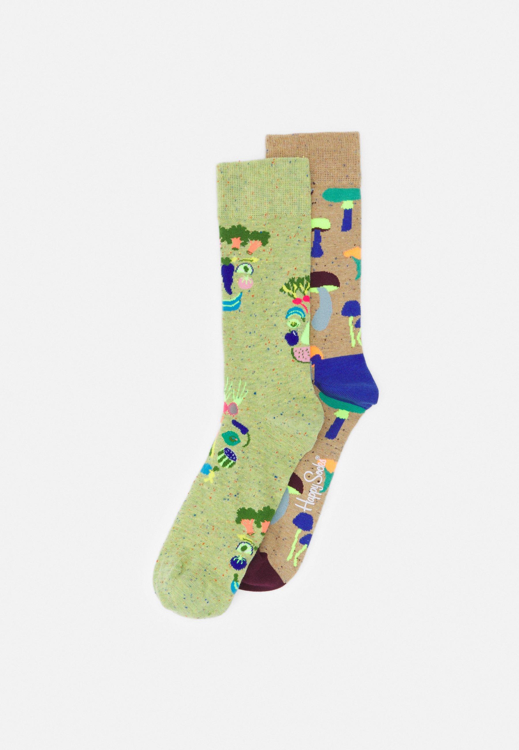 Men HEALTHY GLOW MUSHROOM 2 PACK UNISEX - Socks