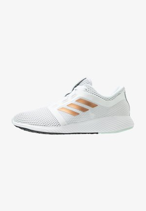 EDGE LUX 3 - Chaussures de running neutres - footwear white/copper metallic/green