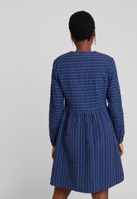 edc by Esprit - STRIPE - Day dress - blue medium wash