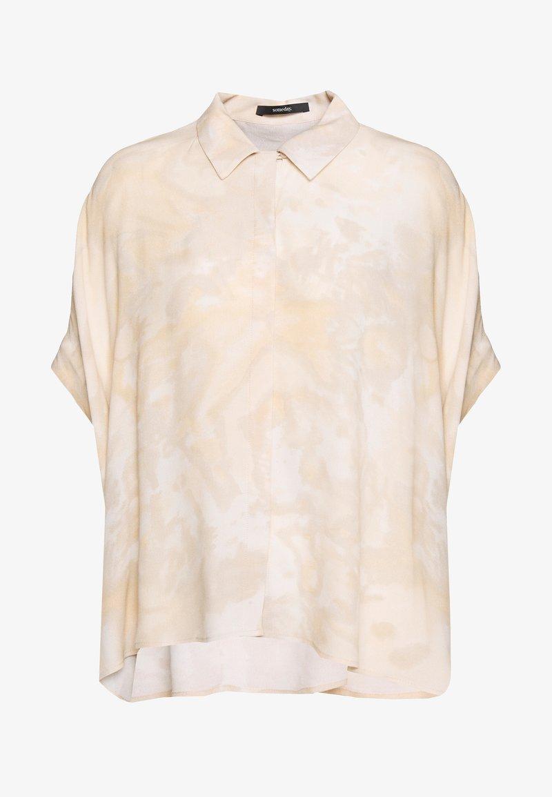 someday. - ZAHAI - Button-down blouse - mellow cream