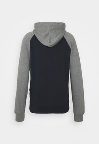 Quiksilver - ESSENTIALS SCREEN ZIP RAGLAN - Zip-up sweatshirt - navy blazer - 1