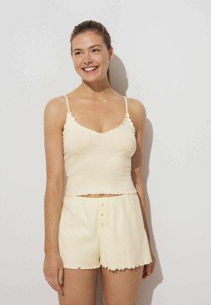 Maglietta intima - beige