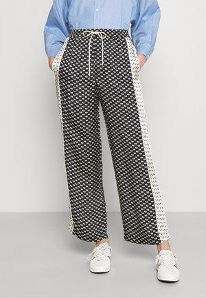 PATSY - Trousers - nœuds noir