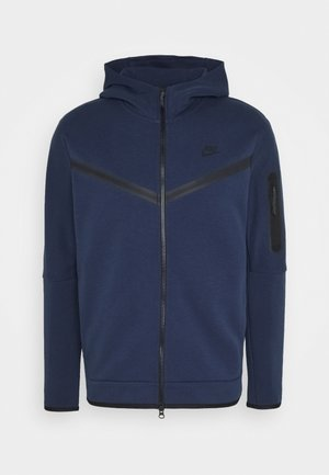 veste en sweat zippée - midnight navy/black