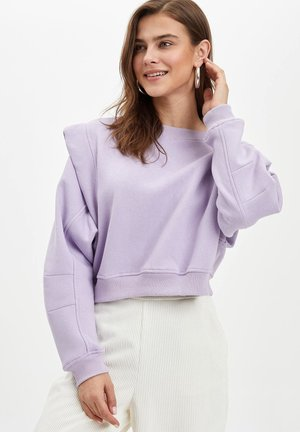 Sweatshirt - purple
