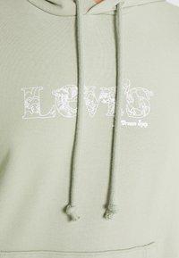 Levi's® - GRAPHIC STANDARD HOODIE - Felpa con cappuccio - khaki - 5