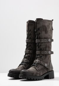 Anna Field - Lace-up boots - dark grey - 4