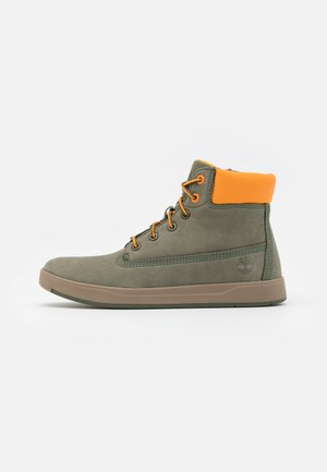 DAVIS SQUARE UNISEX - Korkeavartiset tennarit - dark green