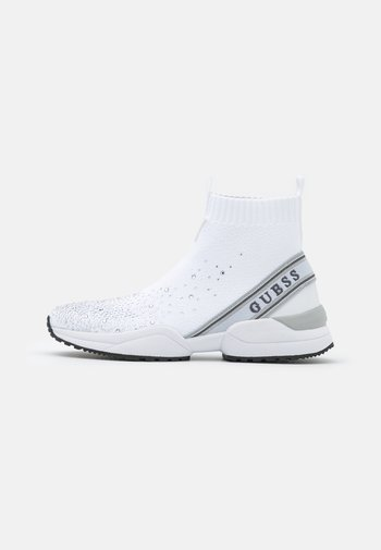 BAMMIE - High-top trainers - white/silver