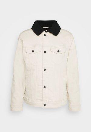 LINED TRUCKER - Light jacket - cream