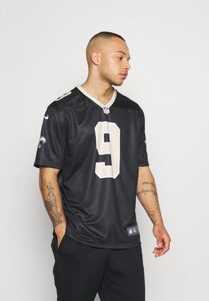 NFL NEW ORLEANS DREW BREES NIKE LEGEND TEAM COLOUR  - Klubové oblečení - black