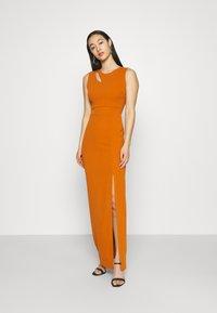 WAL G. - MELANIA CUT OUT DRESS - Společenské šaty - orange - 0