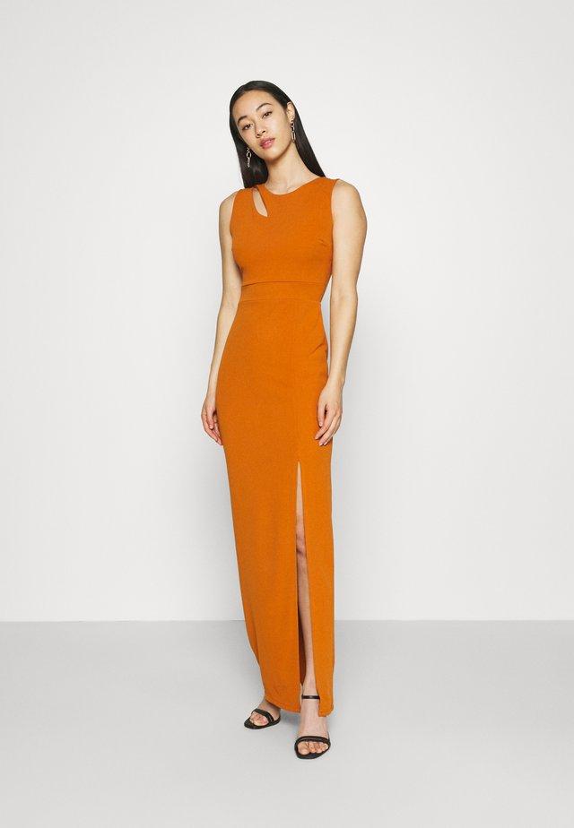 MELANIA CUT OUT DRESS - Galajurk - orange