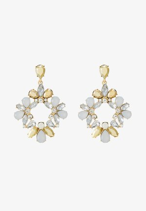 PCPEARLI EARRINGS - Boucles d'oreilles - gold-coloured/multi