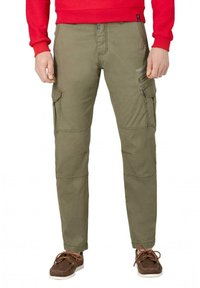Timezone - Cargo trousers - muddy green - 0