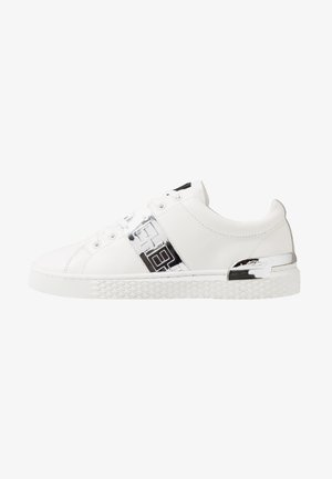 STRIPE METALLIC - Sneakers basse - white/silver