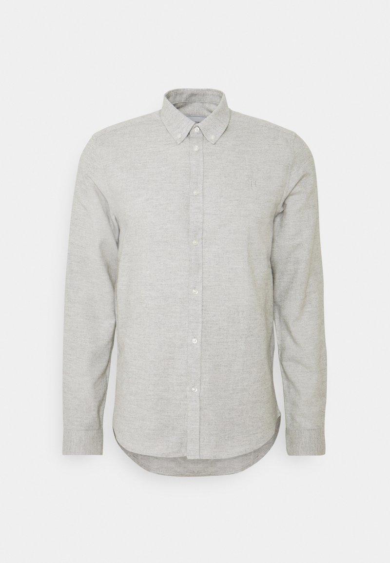 Les Deux - HOLDEN HERRINGBONE - Shirt - grey