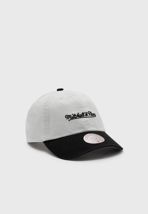BRANDED CHAIN STITCH STRAPBACK - Cap - white/black