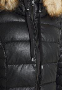 comma casual identity - Płaszcz zimowy - black - 3