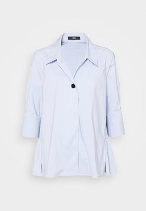 EVE LOVELY BLOUSE - Button-down blouse - sky blue