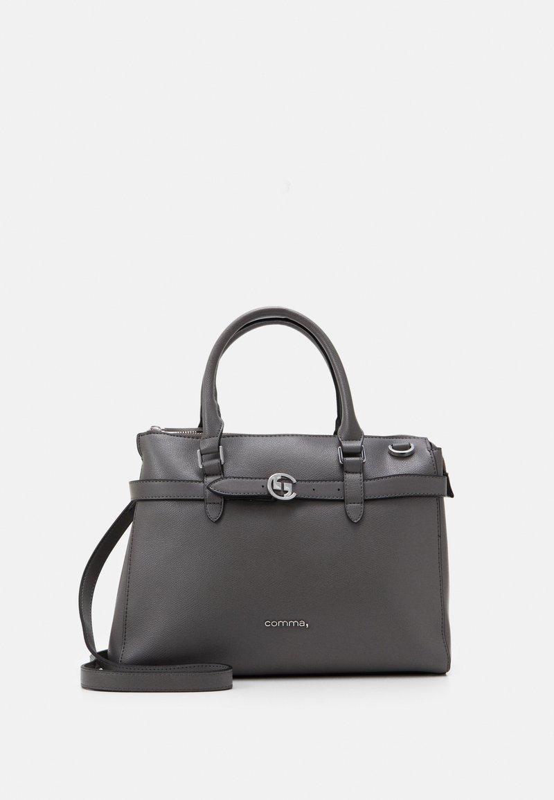 comma - TURN AROUND HANDBAG - Handbag - grey