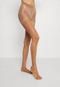 Lindex - TIGHTS 40 DENIER FIRM SHAPING - Strømpebukser - tan - 1