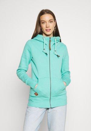 NESKA ZIP - Zip-up sweatshirt - mint