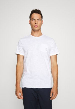 WITH POCKET - T-shirts basic - white