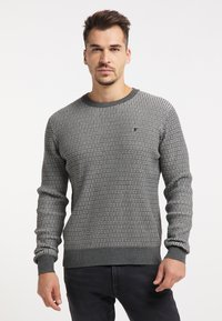 TUFFSKULL - Stickad tröja - dunkelgrau - 0