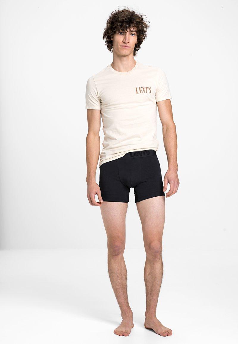 Levi's® - MEN PREMIUM BOXER BRIEF 3PACK - Panties - black