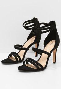 Clarks - CURTAIN STRAP - High heeled sandals - black - 3