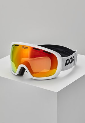FOVEA CLARITY UNISEX - Skidglasögon - hydrogen white/spektris orange
