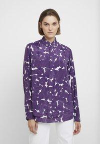 Hope - TWICE - Skjorte - purple sweep print - 0