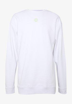 CREW NECK - Bluza - white
