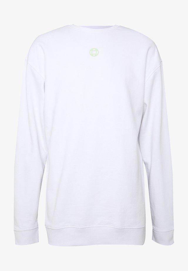 CREW NECK - Sudadera - white
