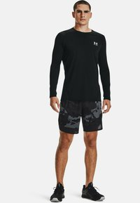Under Armour - STRETCH CAMO - Sports shorts - pitch gray - 1